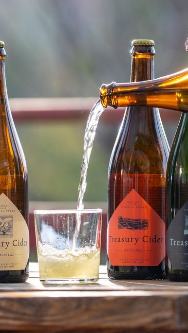 "Tasting with Aaron Burr Cidery - ""The Cidery"", which produces Aaron Burr Cider in Wurtsboro, New York, is a small homestead farm dating back to the early 1800s. Their tenure on this land began in 2006 with the planting of a cider-orchard. They use their apples and other locally grown and foraged apples for one mission: to re-create ""true cider"", the rightful table wine of our land. They will be tasting our VIPs on some of the most interesting ciders CoolVines has come across- you don't want to miss it!"