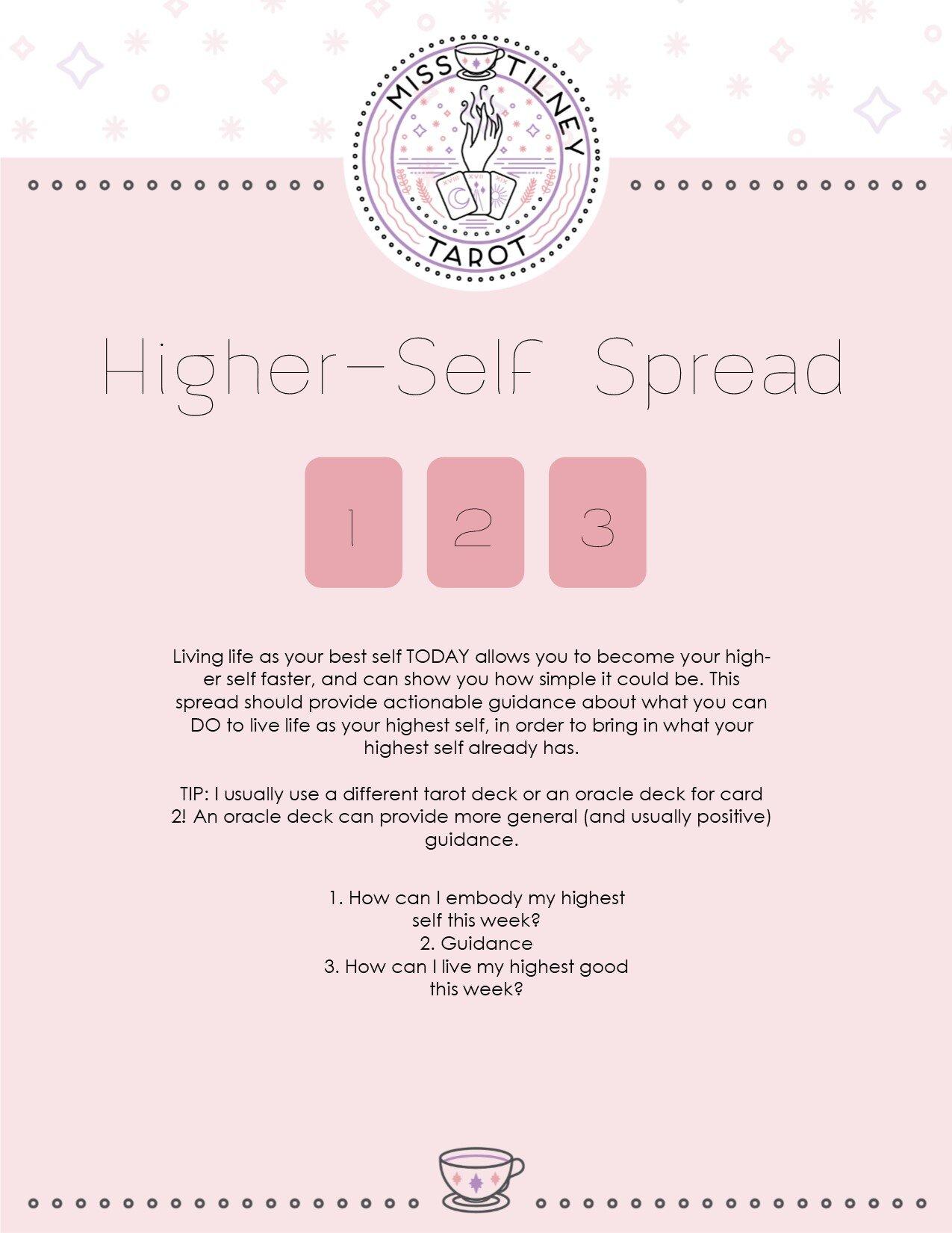 Higher Self Spread.jpg
