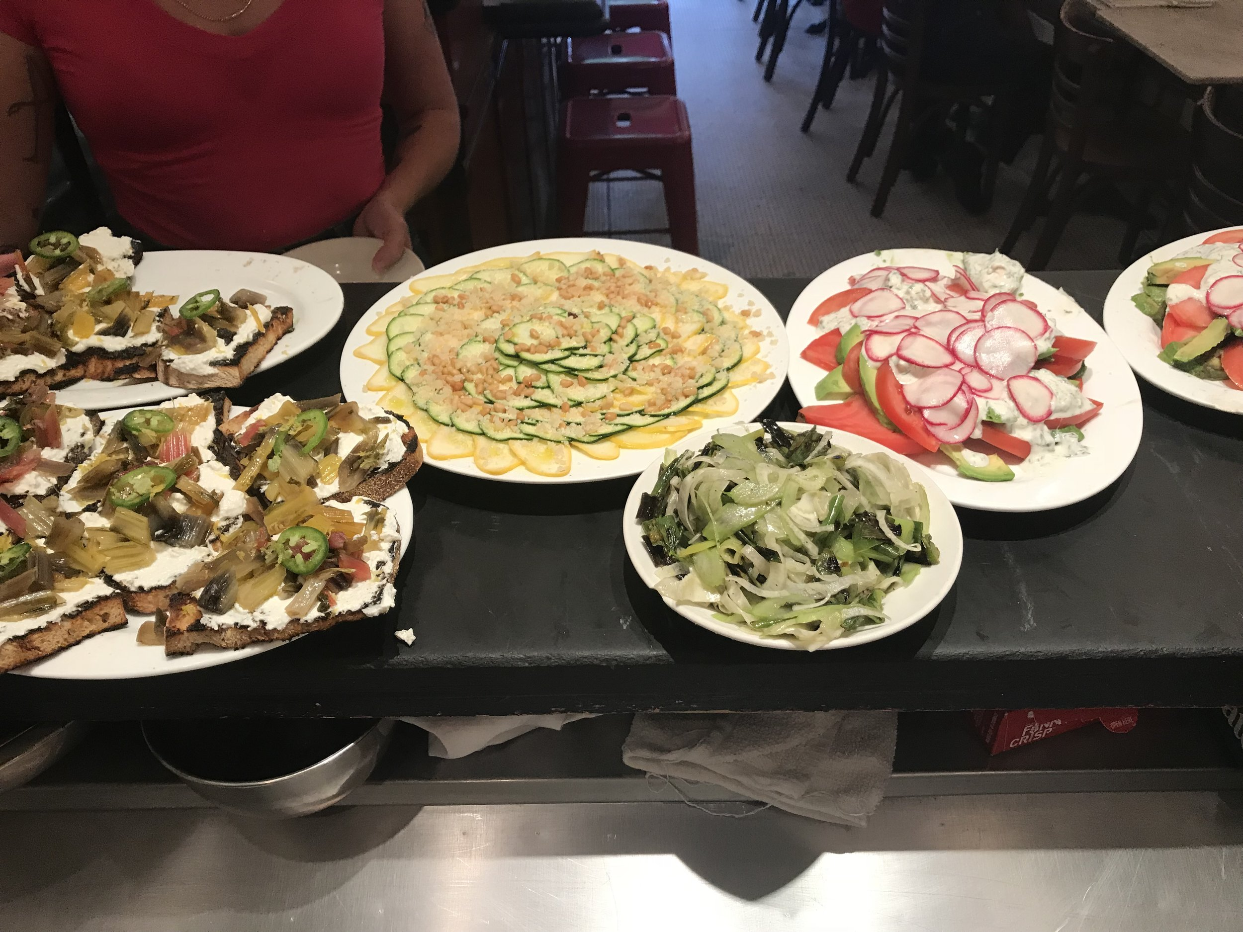 family meal @ prune/ new york, ny  -