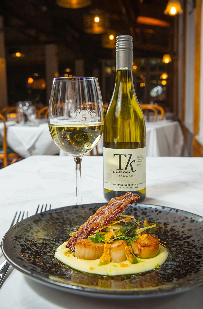 Shed5 Scallops with Te Kairanga Chardonnay  - Copy.jpg