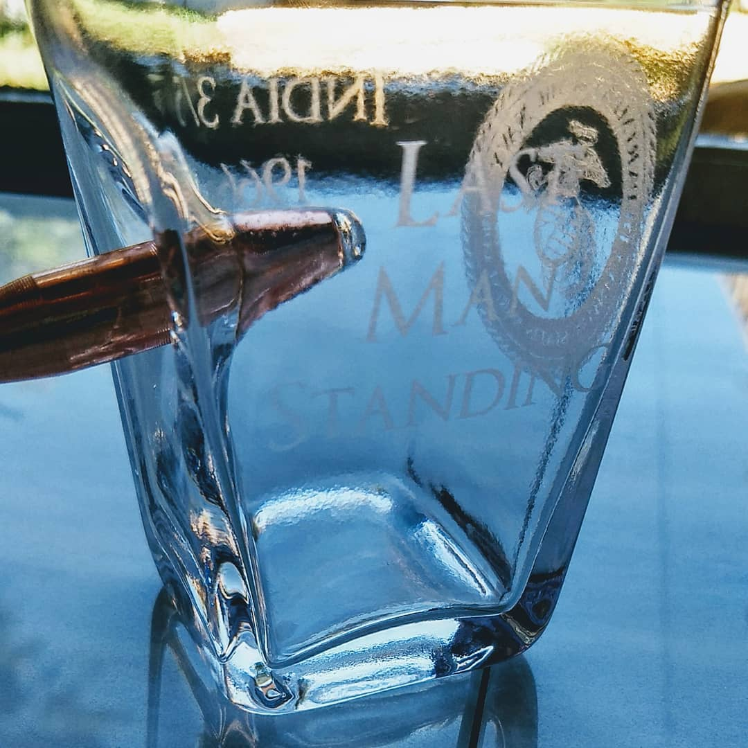 Engraved Clear Glass
