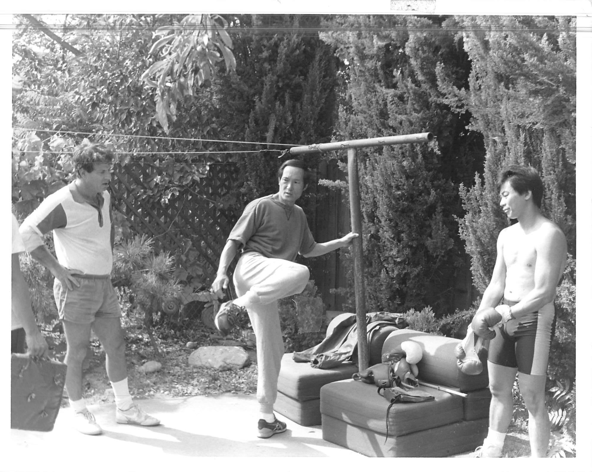 Dr. Z's Backyard in Monterey Park around 1982