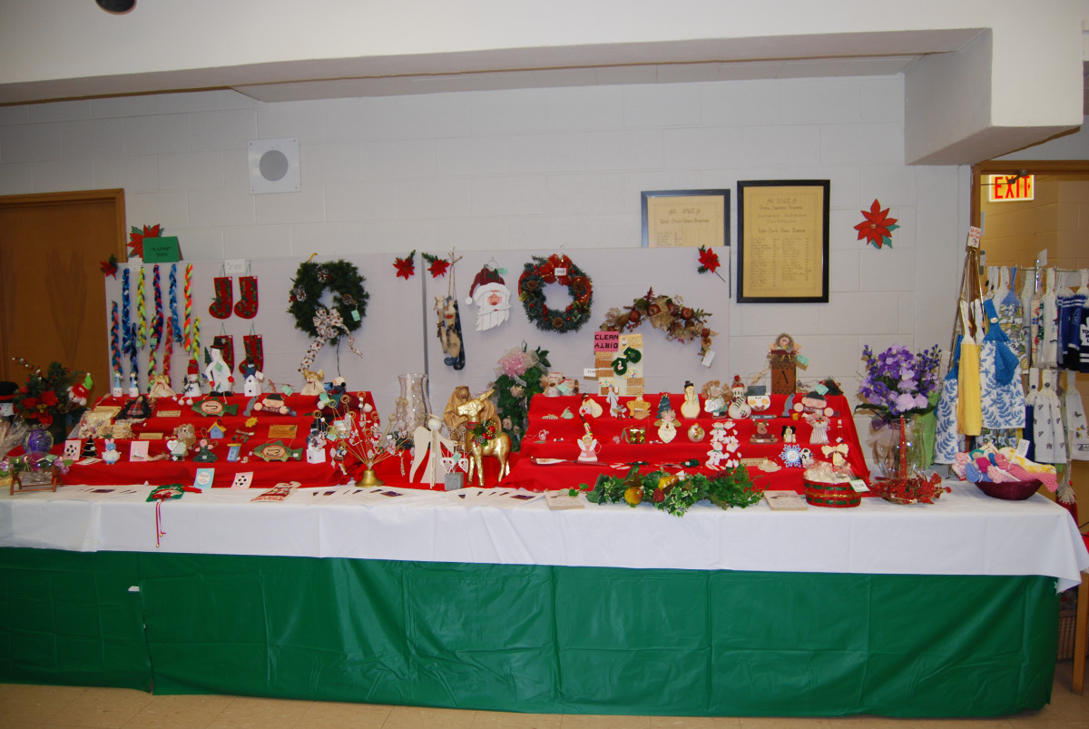 Some of our many crafts