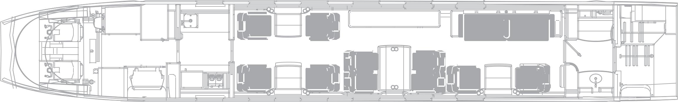 Action Aviation 2010 Gulfstream G450 Floorplan