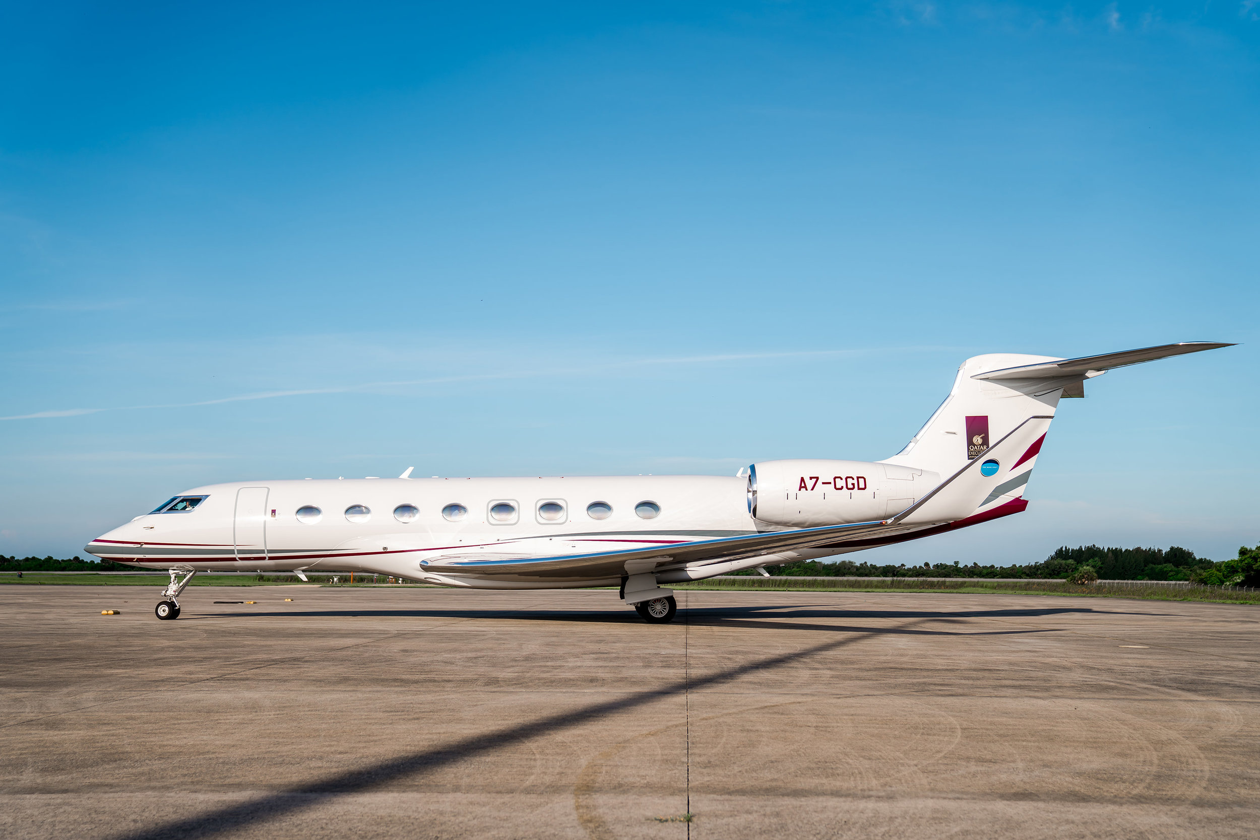 Qatar Executive G650ER used to achieve the world record