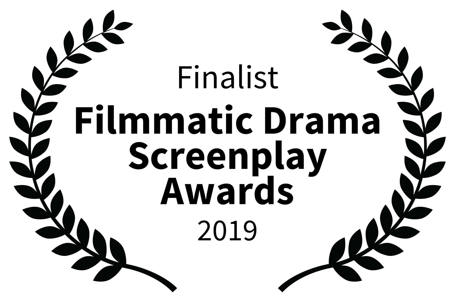 Finalist - Filmmatic Drama Screenplay Awards - 2019.png