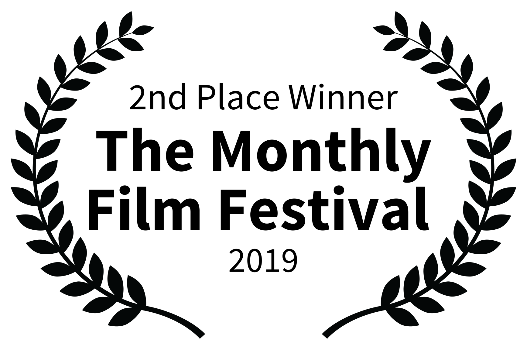 2nd Place Winner - The Monthly Film Festival  - 2019.png