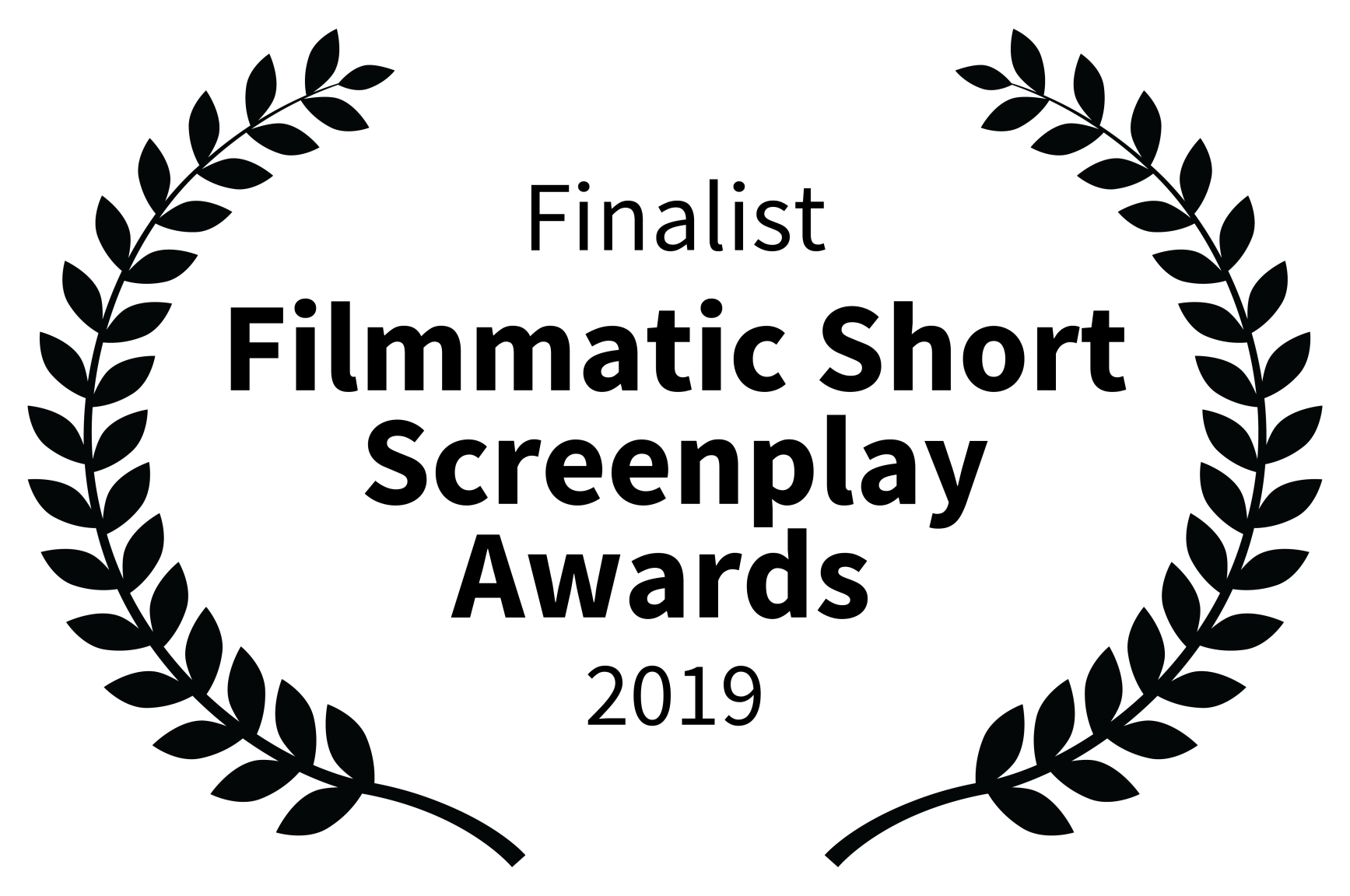 Finalist - Filmmatic Short Screenplay Awards  - 2019.png
