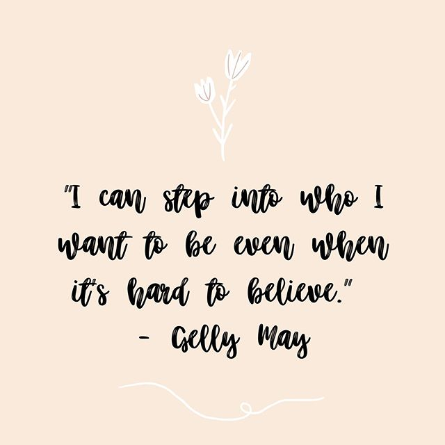 This was one of the very many inspiration quotes shared today by our guest speaker Gelly! Drop a 🙌🏼 below if this resonates with you.