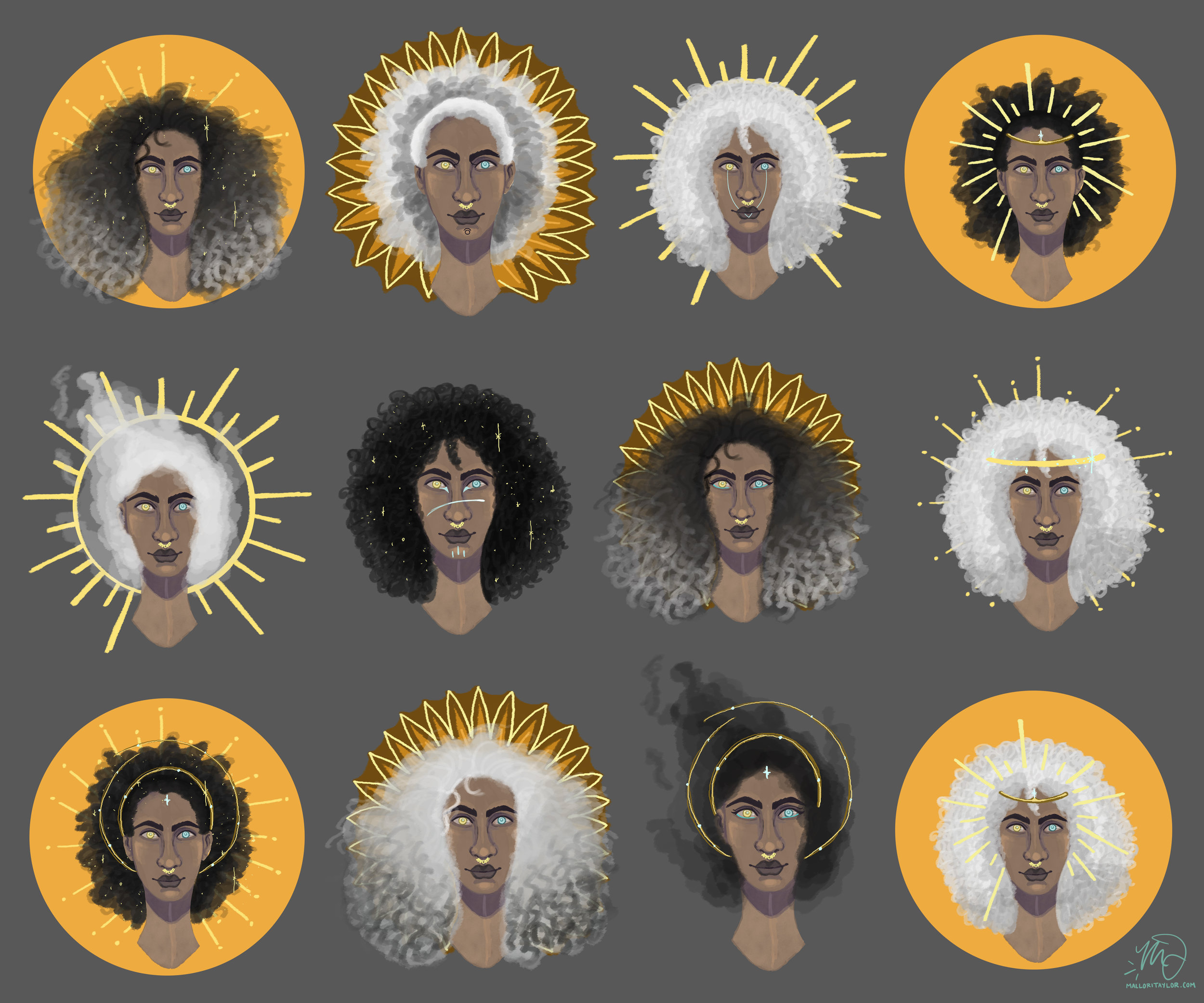 star goddess portraits.jpg