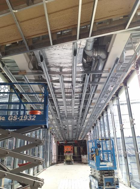 Airbridge Ceiling Structure