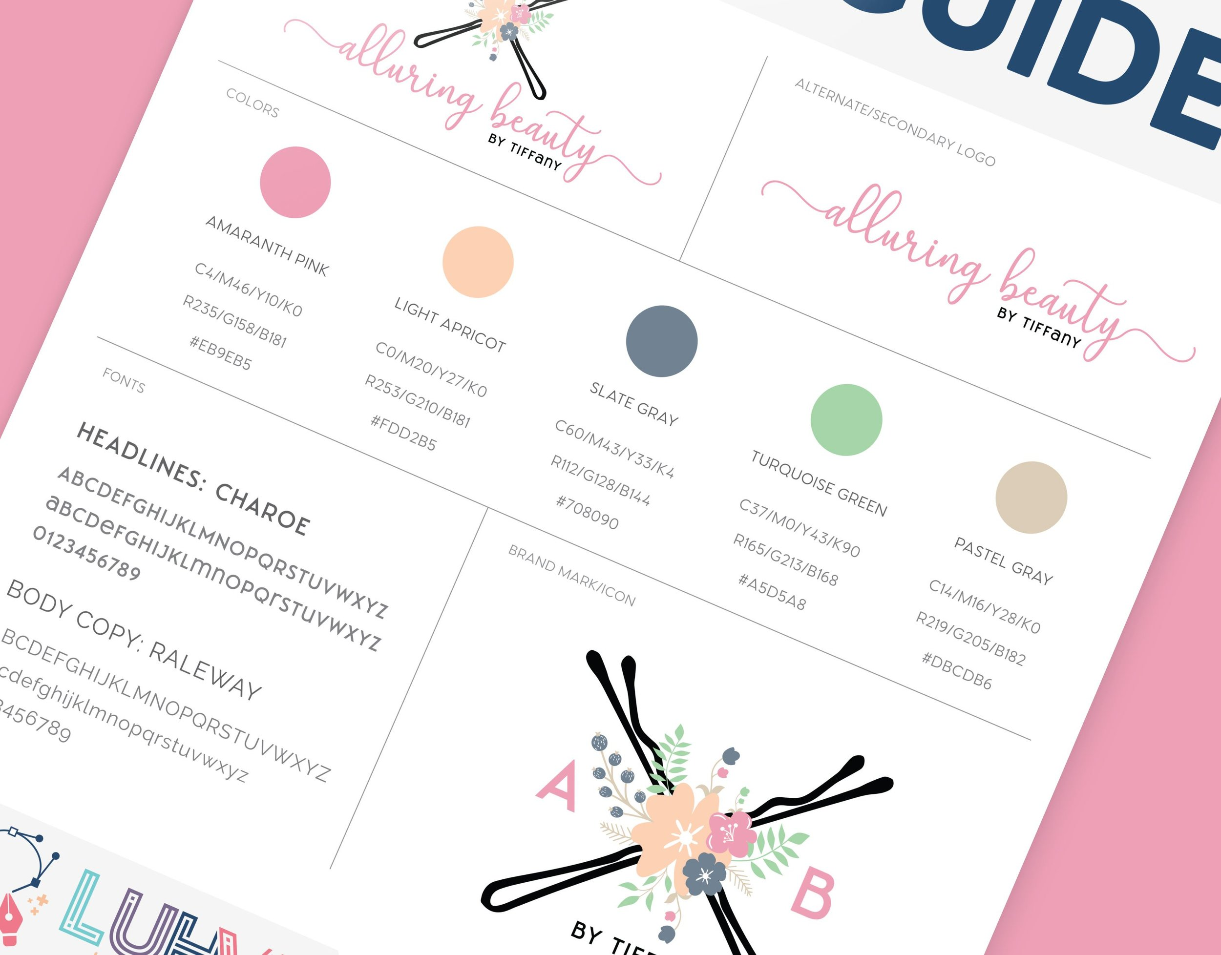 Alluring Beauty Brand Style Guide