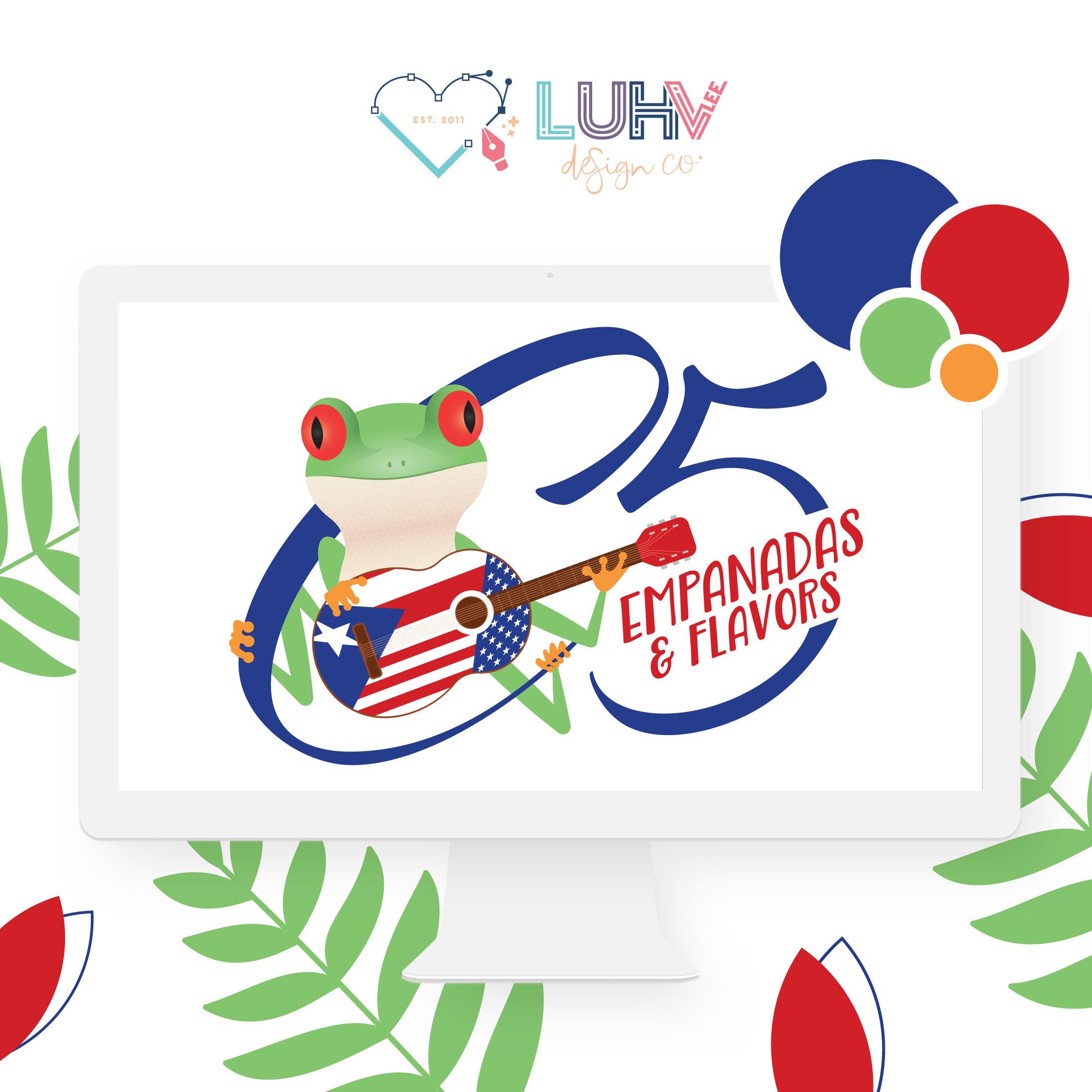 C5 Empanadas & Flavors Logo Design by Luhv'lee Design Company