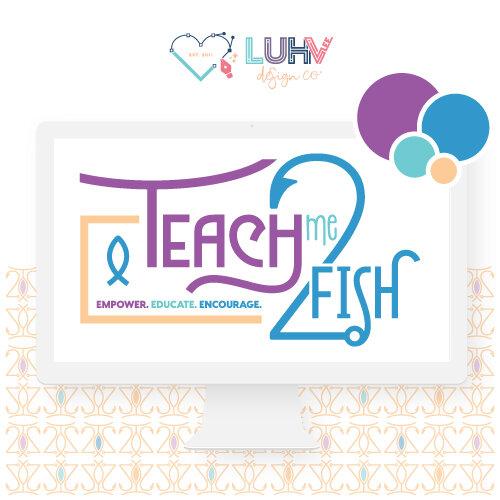 Teach Me 2 Fish Logo Design