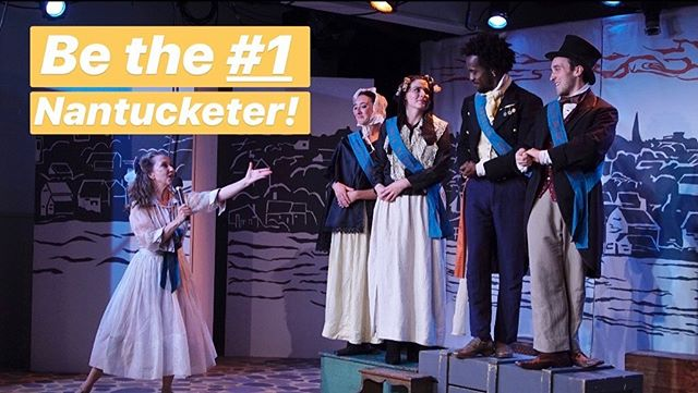 At 6:00pm TONIGHT you can be the #1 Nantucketer by bringing your friends to see #NantucketTheMusACKal! Tickets at the link in bio or at the door! • #Nantucket #NantucketIsland #ACK #Summer #ThingsToDoOnNantucket