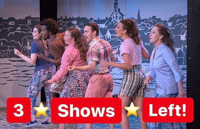 Only 3️⃣ more chances to bring YOUR gang to see THIS gang! Tonight, Saturday, and Sunday at 6:00pm! (Only 70 minutes and hysterACKal every second! 💯😂⭐️) • #Nantucket #ACK #NantucketTheMusACKal #MakeNantucketGreyAgain #Summer #ThingsToDoOnNantucket
