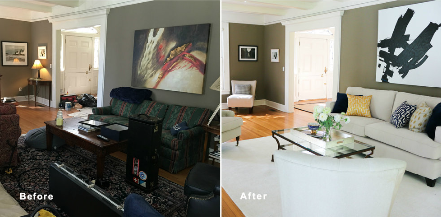 Home staging before and after (2)
