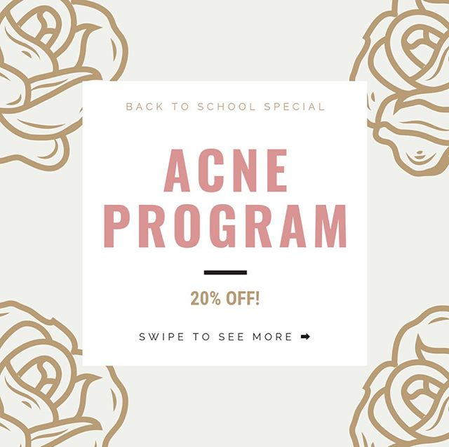 """It's almost time for back to school! Get a jump start on your acne now! Our holistic approach will bring you real, lasting results for clear skin. """"This is the first time I'm seeing results!"""" """"I couldn't have done this without you"""" Come in for your consultation, first treatment and all your skincare products and internal supplements for $156! (Normally $195 and valued at $250) Book your appointment now through the end of September to receive this awesome offer! . . . #bendoregon #bendwellness #bendskincare #holisticesthetician #acnetreatment #acnesolutions #bajabasics #ancientnutrition #blissomaskincare #sorellaapothecary"""