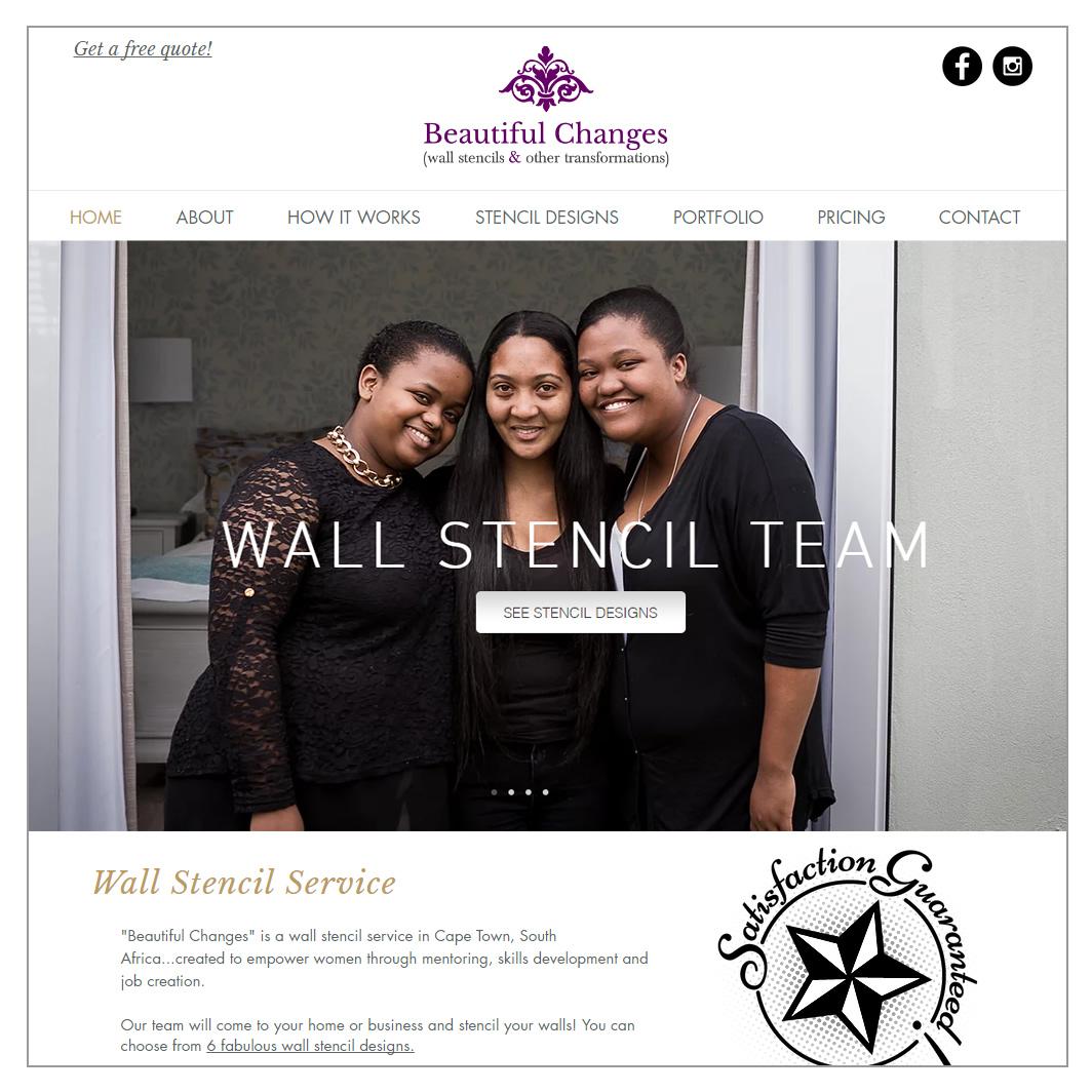 Wall Stencil Service