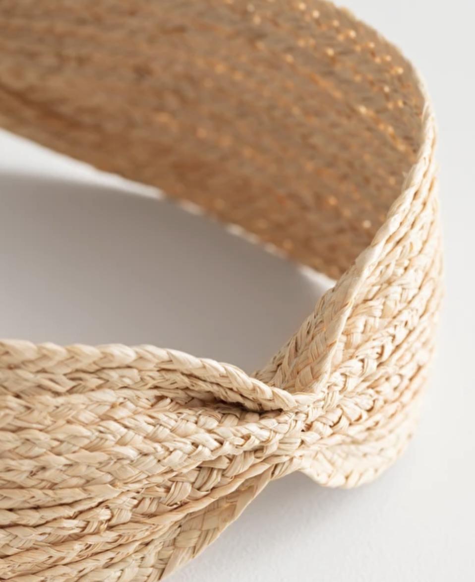 Woven Straw Hairband
