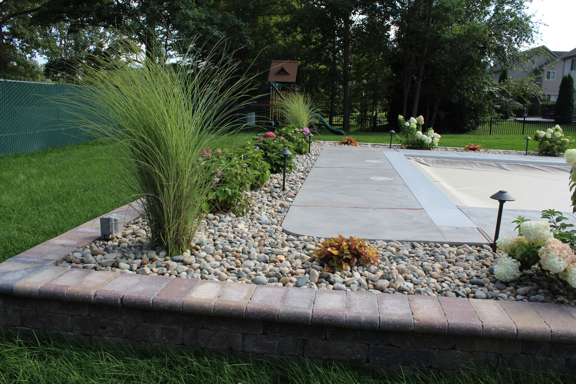 Top quality landscape maintenance with weekly lawn care in Flat Rock MI