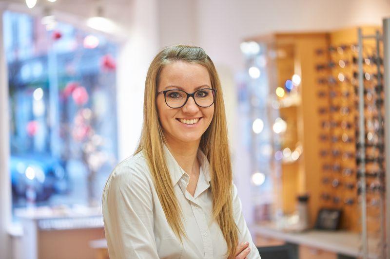 Eva Fellner - Augenoptikemeisterin