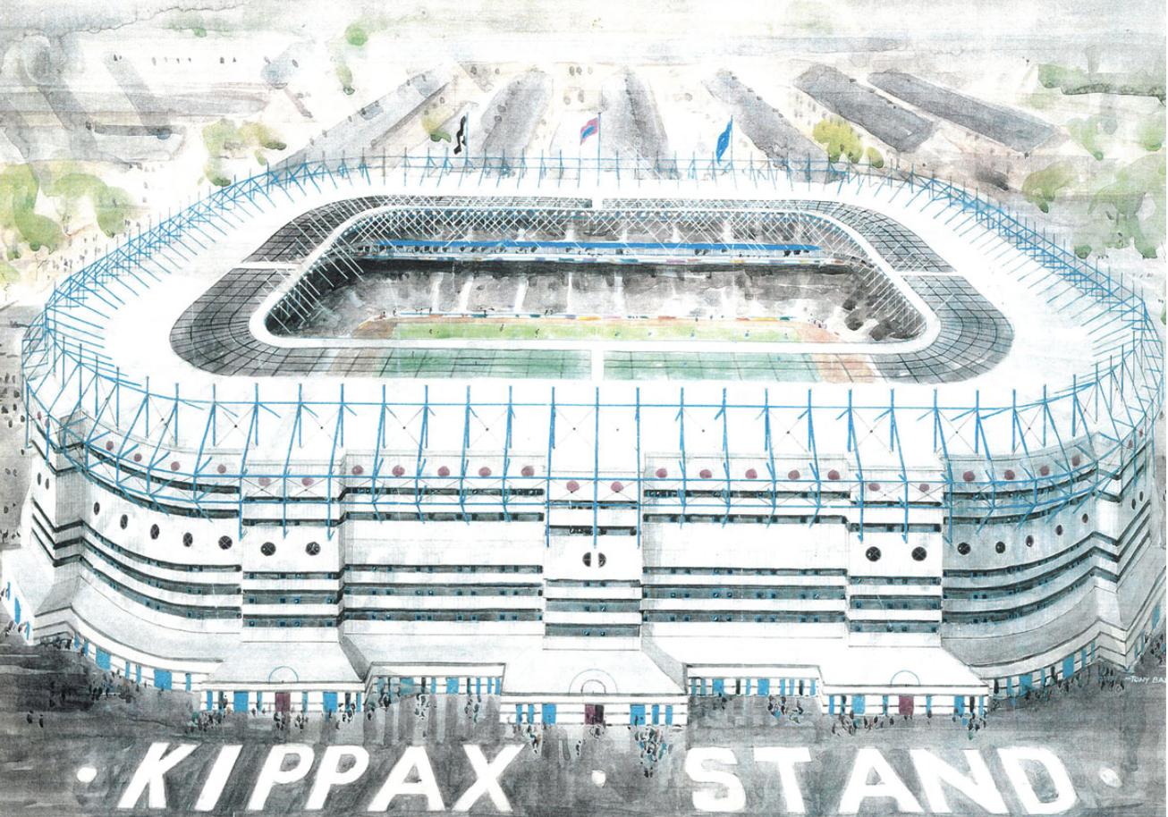 Kippax Stand, Maine Road Football Ground, Manchester