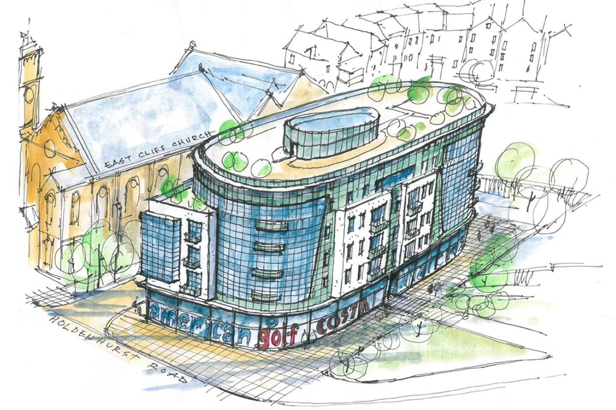 Proposed Mix-use Scheme, Bournemouth
