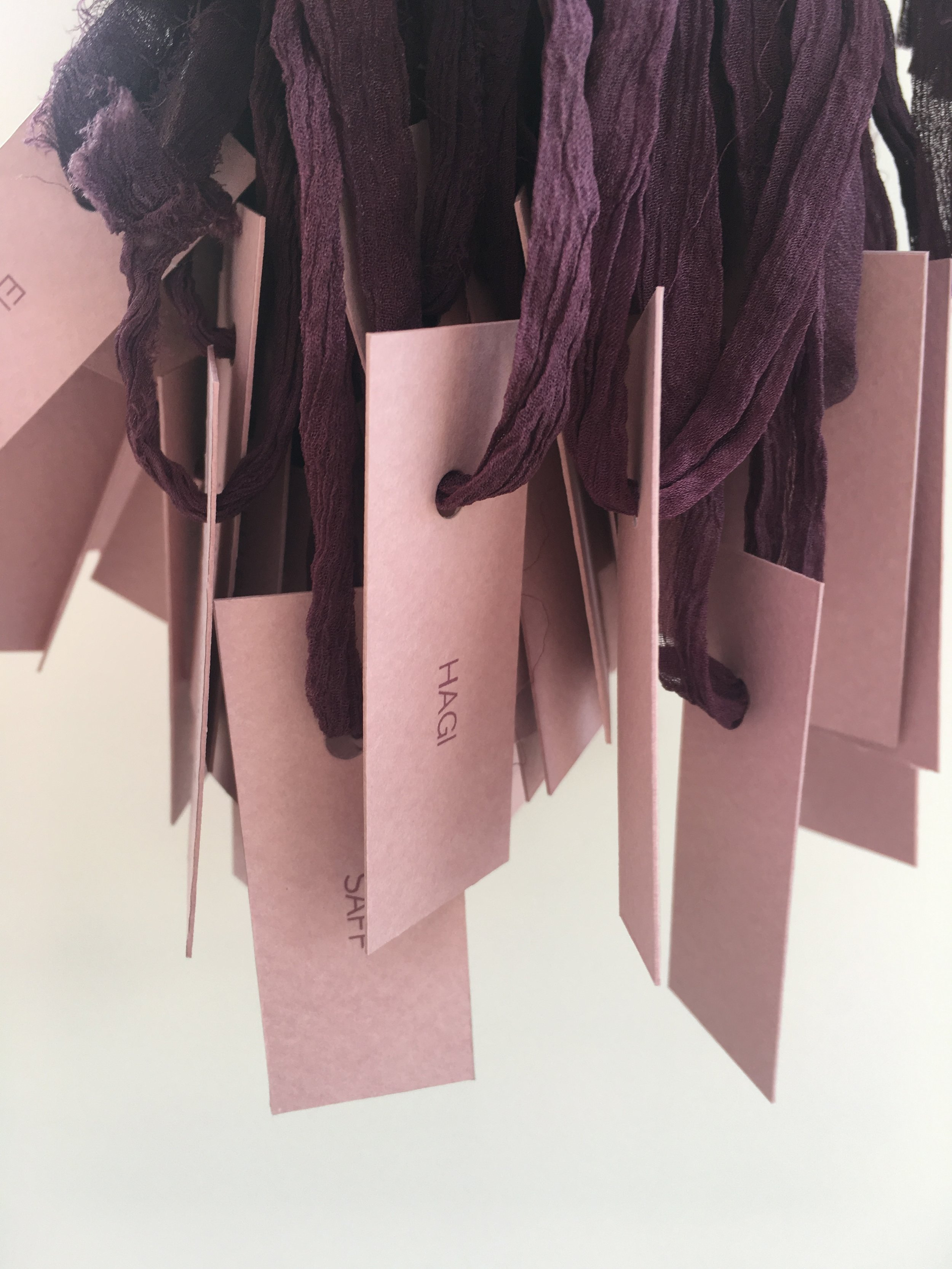 Name tags for a large event