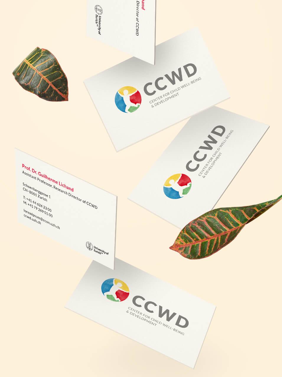 Markenauftritt CCWD, Universität Zürich