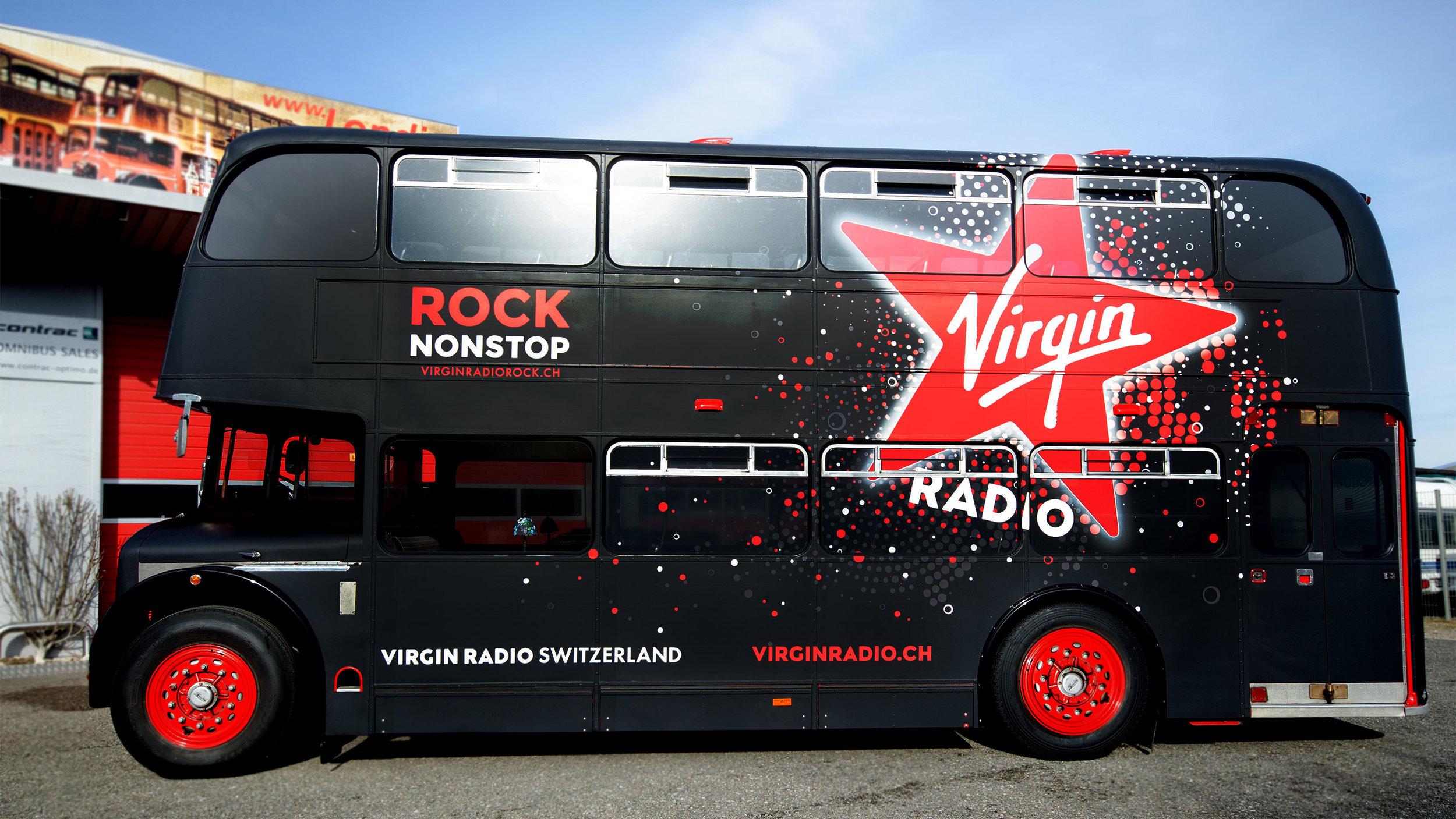 Promotionen Virgin Radio Switzerland
