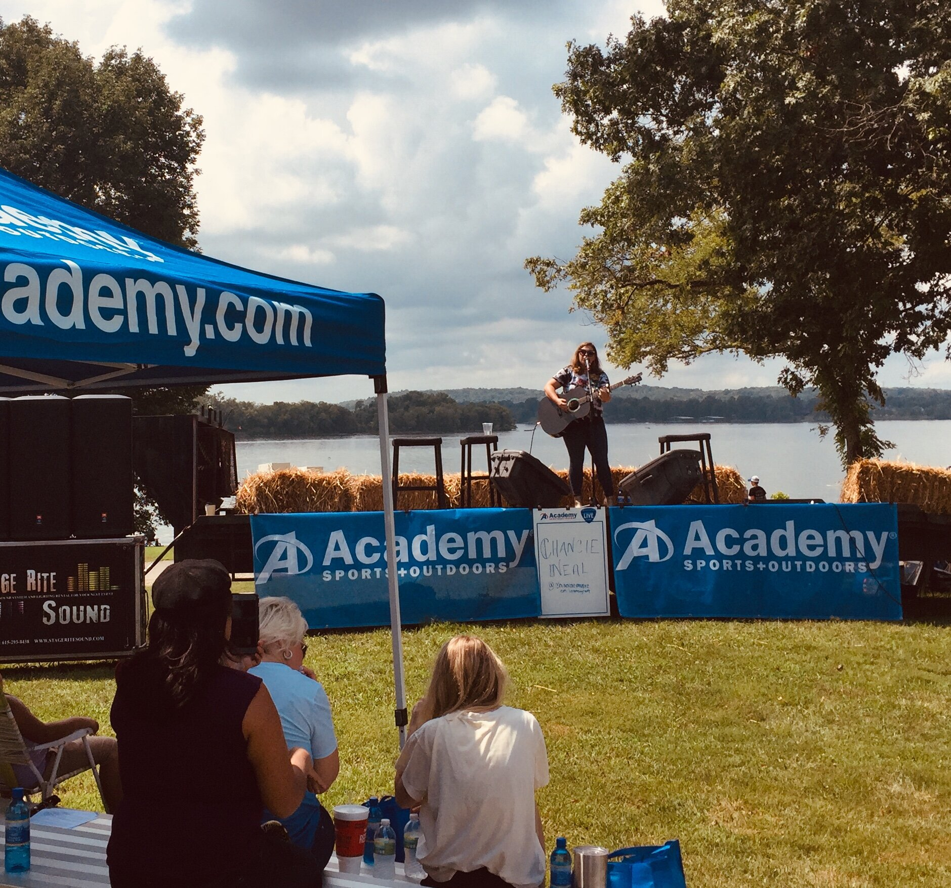Because of her love for the outdoors, WSM Radio asked her back to entertain fans during Free Fishing Day in Gallatin. She joined Irlene Mandrell, Buddy Jewell, Joe Denim, Nick Davisson & the Moonshots, Dustin Collins and Sam Tate on the Academy Sports + Outdoors Stage.