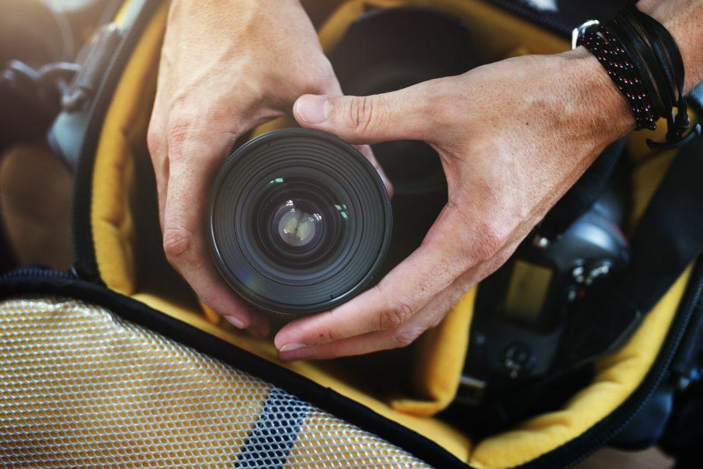 Camera Photography Design Studio Lens Concept