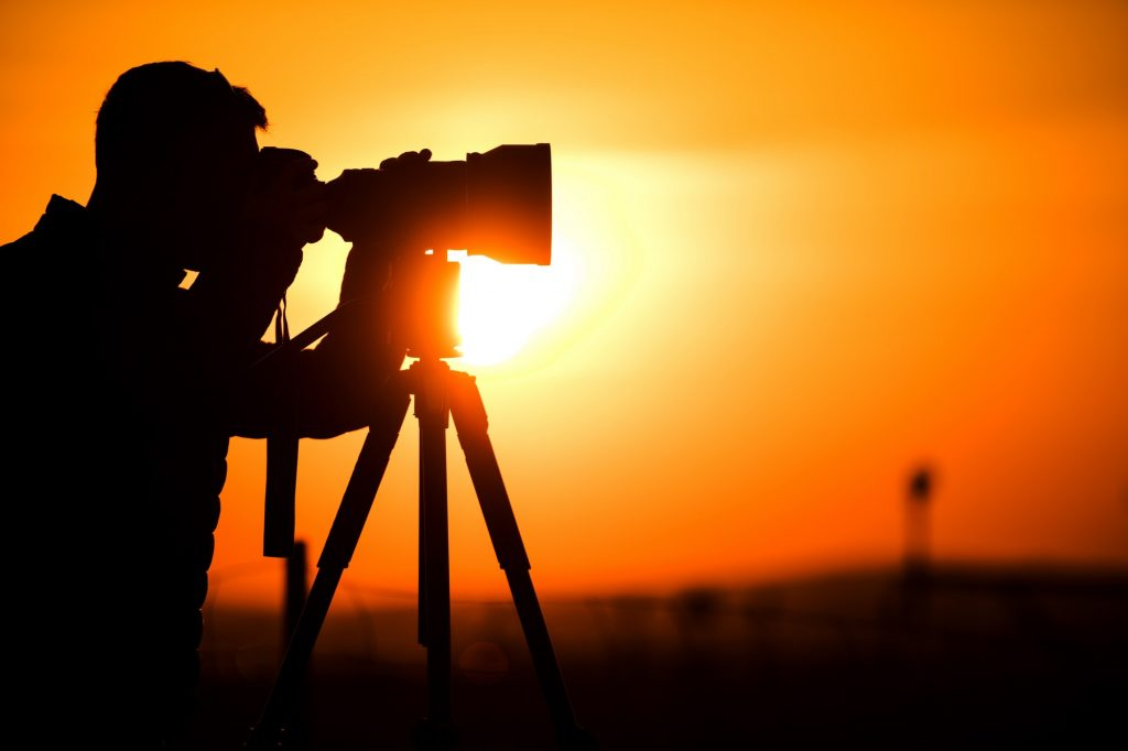 Photography Hobbyist Silhouette