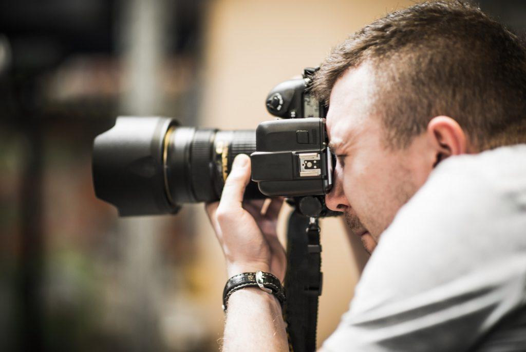 Studio Photographer in Action