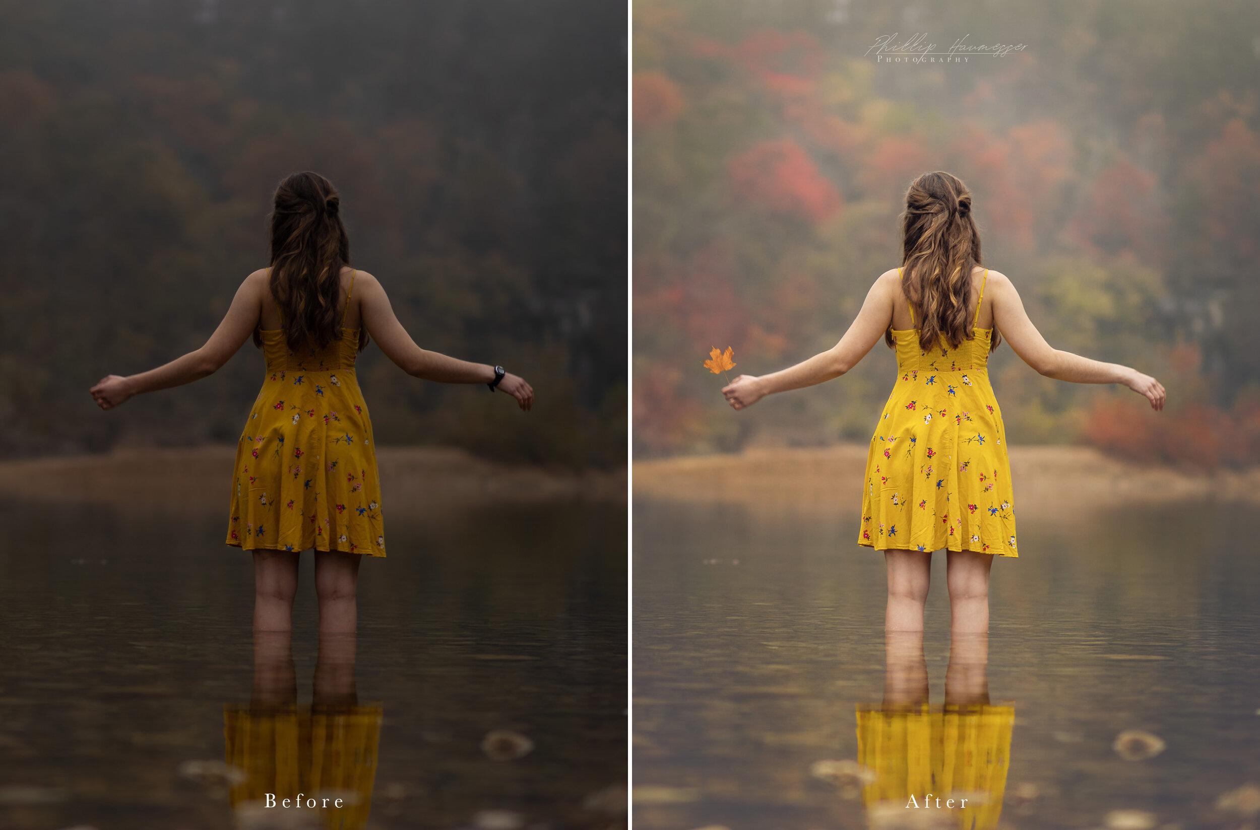Watch Me Edit: Autumn Reflections