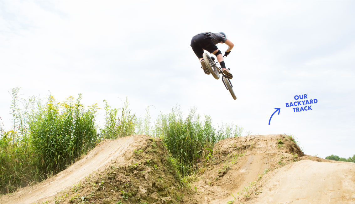 "Pump Tracks - A pump track is a series of rollers, banked turns, and features designed to be ridden completely by ""pumping"": generating momentum by up and down movements, instead of pedaling. We now build both private and public pump tracks; let's talk dirt!"