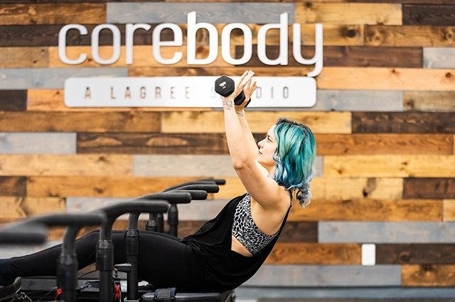 Don't forget to breathe and keep pushing through! Who else loves incorporating hand weights into their Mega Tone class?