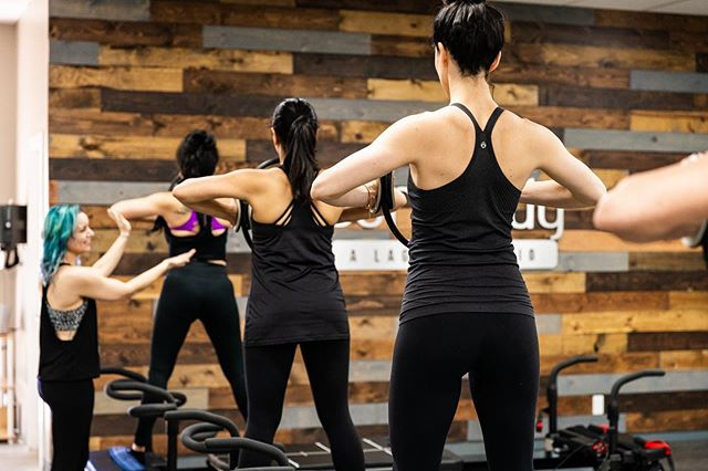We've got your back! And our instructors are here to help challenge your mind, body and core. Who's joining us for a Mega-Tone class this week?!