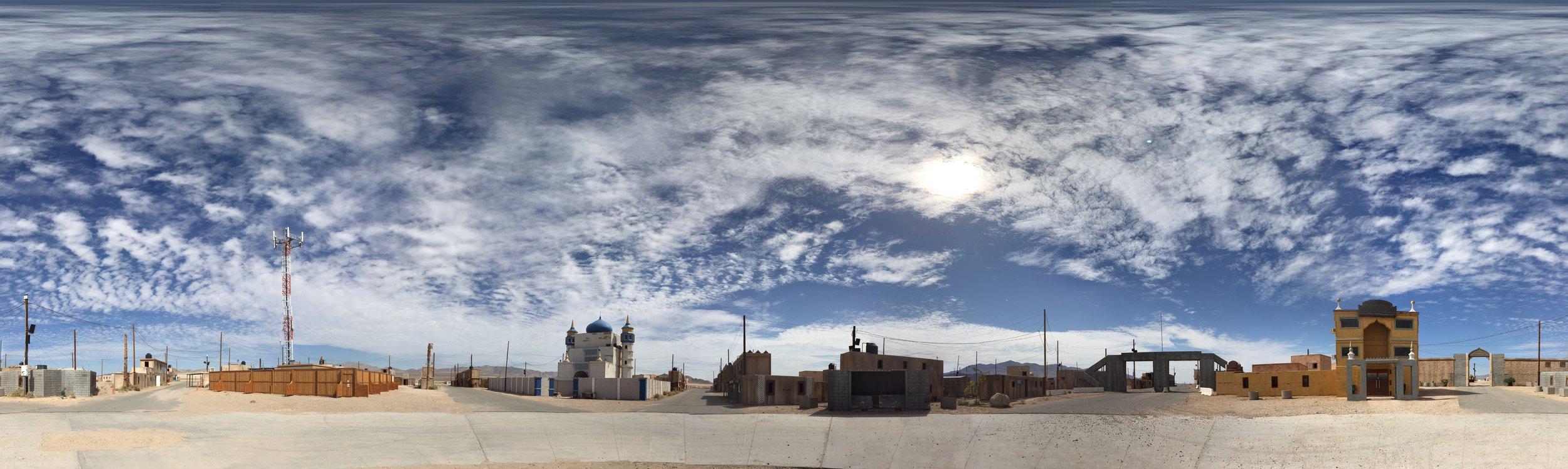Medina Wasl VIllage  AKA  Ujen —  extracted Google Street View panorama by Pat Ripton
