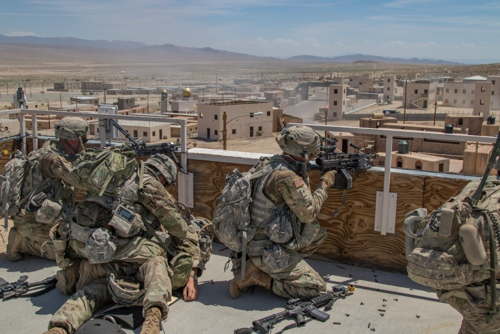 Razish VIllage —  Fort Irwin, California: Photo by Capt. Gregory Walsh