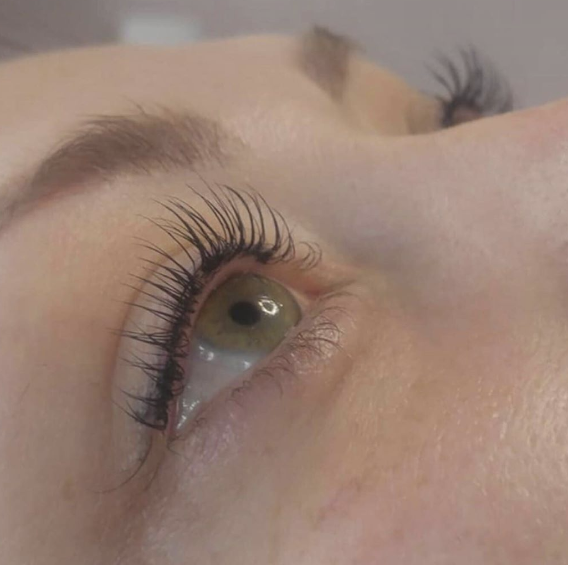 Oooo La Lash! - (Immediately after lash lift & tint)