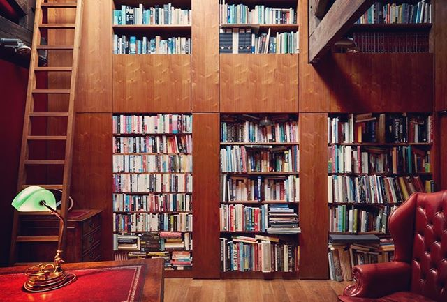 Time to get lost in a book or two in our library, a rare find tucked away from the hustle and bustle of the city