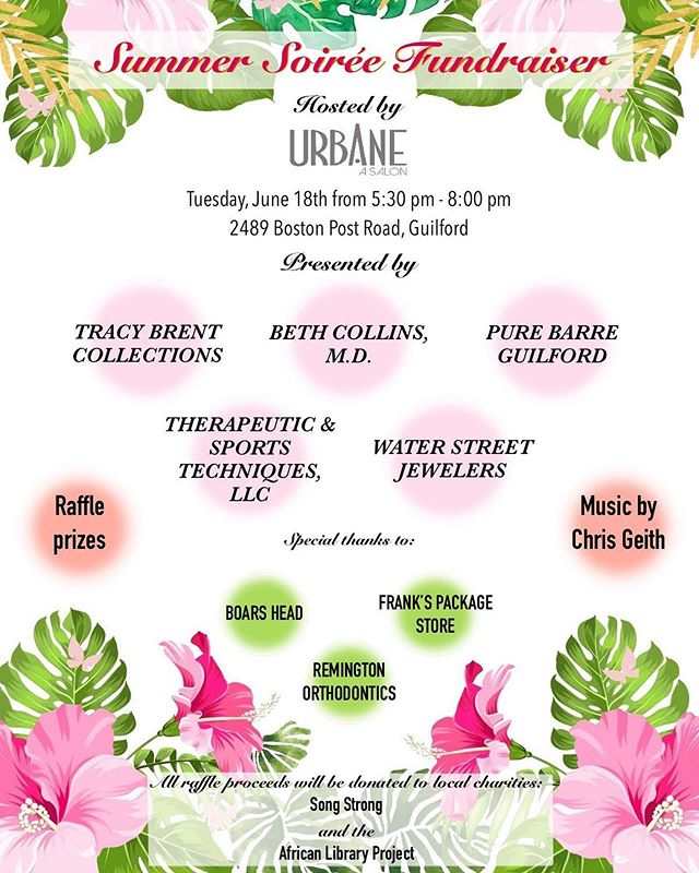 Rain isn't going to stop our fun...come by TONIGHT and have a glass of wine with us and meet some great local businesses #shoplocal #cthair #ctsalon #guilfordct #ctdermatologist #ctbarre #ctshoreline #ctnetworking #ctevents