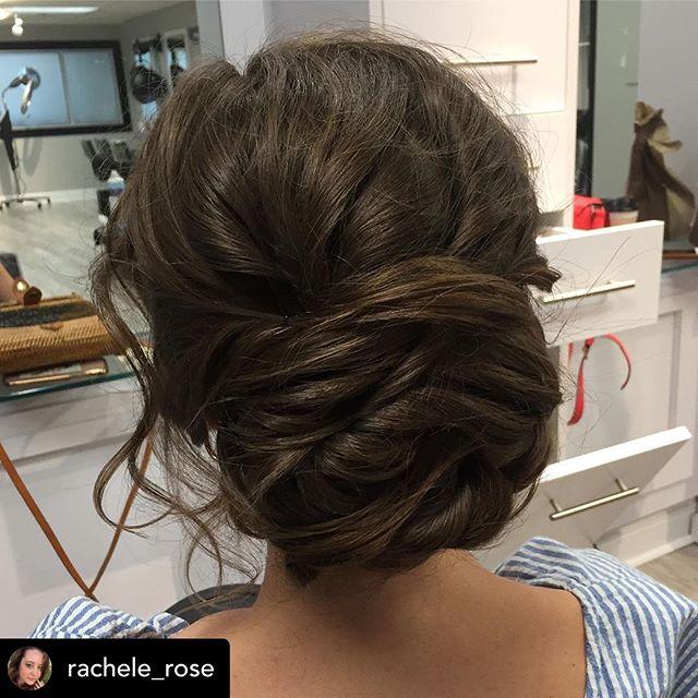 Repost • @rachele_rose  Romantic bridal updo 💋 . . . . . #yourlookbyrachele #bridalhair #bride #weddingseason #messyupdo #updo #formalhairstyle #summerwedding #ctweddings #ctbride #lowbun #messybun #weddingstyle #ctsalon #guilfordct #shorelinect #urbanehairsalon