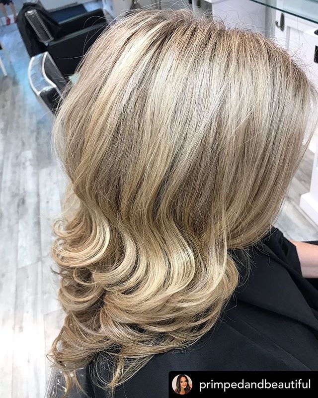 Repost • @primpedandbeautiful : Shine on my friend 💎 . .  #primpedandbeautiful #vsgrotthair #urbanehairsalon #guilfordcthairsalon #guilfordct #balayagect #trends #naturalhair #ctshoreline #balayage #hairpainting #lowlights #highlights #healthyhair #shine #bestofbalayage #waves #bestofhair #cthairartists #modernsalon #behindthechair #framar #randcolove #licensedtocreate #stylistshopconnect #maneinterest #stylistsupportstylist #salonpick