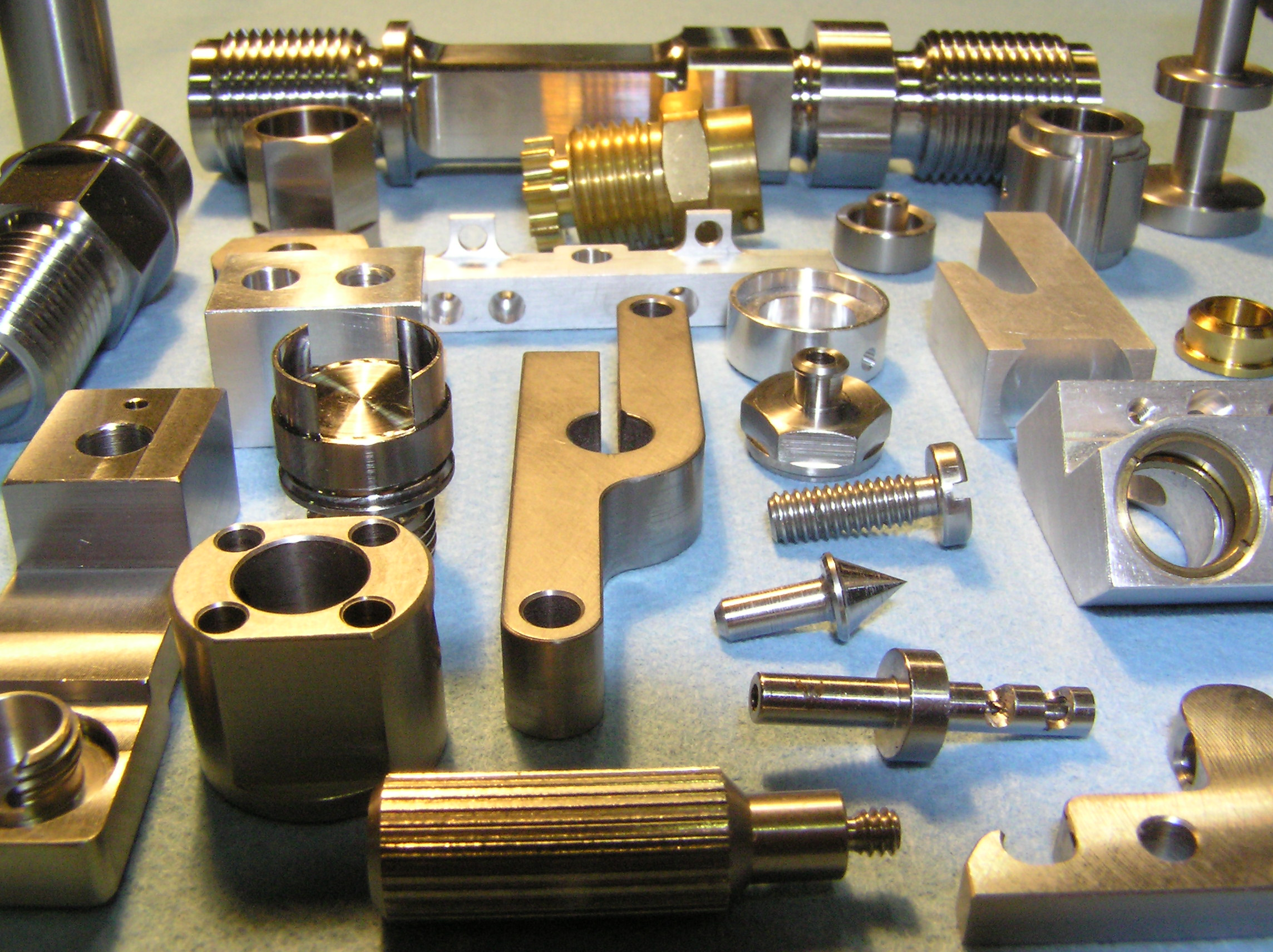 Services - CNC Mill/Lathe Production, CNC Swiss Screw Machining, Reverse Engineering, Prototype, Turn-Key Manufacturing, Metal Fabrication and Production Sawing.