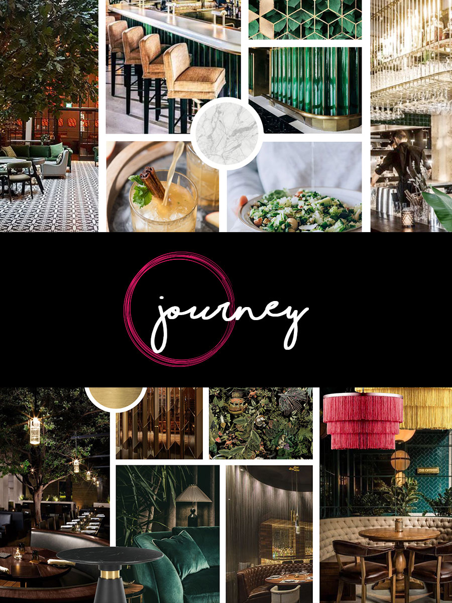 - A restaurant experience inspired by travels and journeys of the world. Opens in Chelsea in 2019