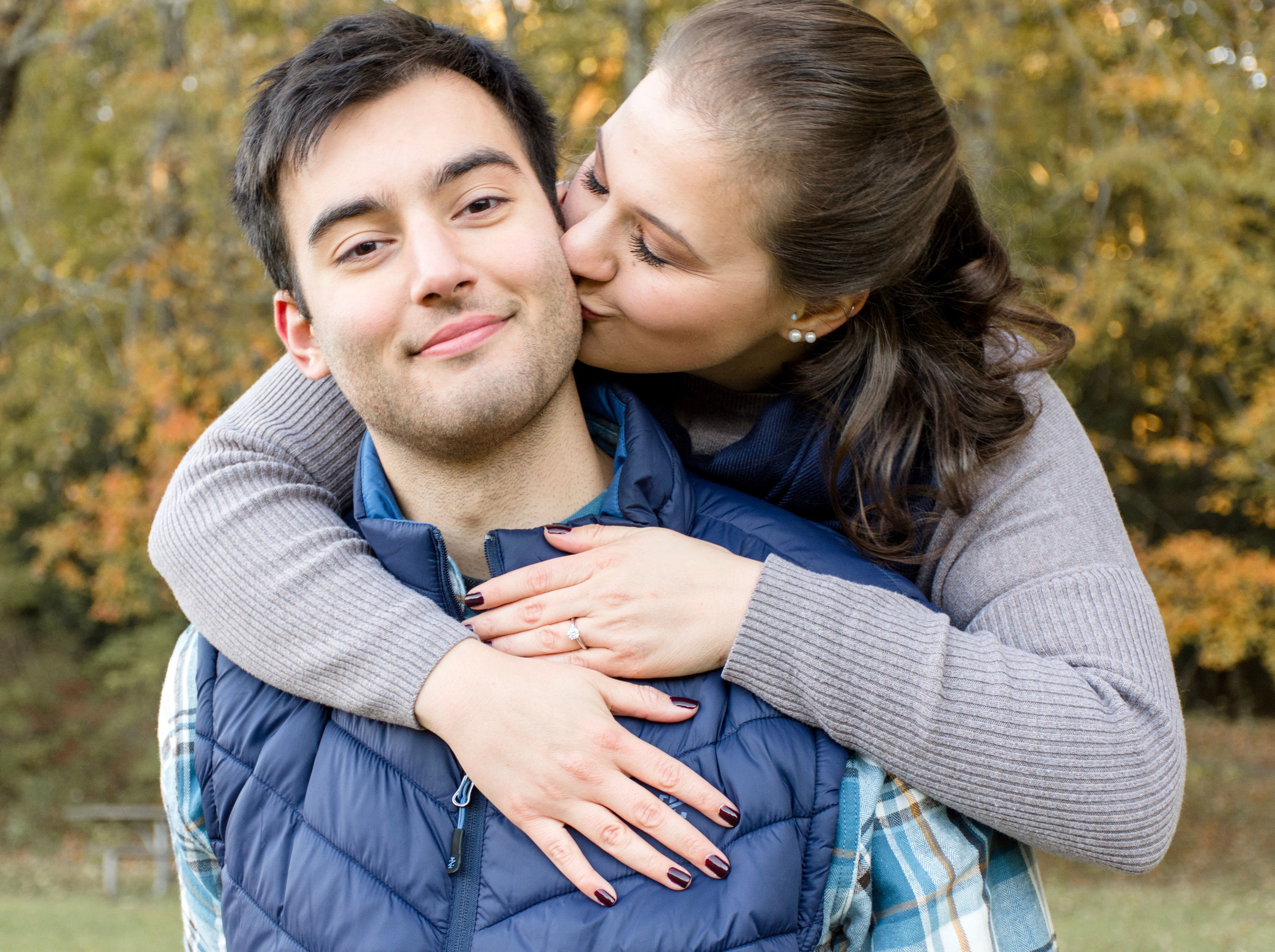 New England Fall Engagement