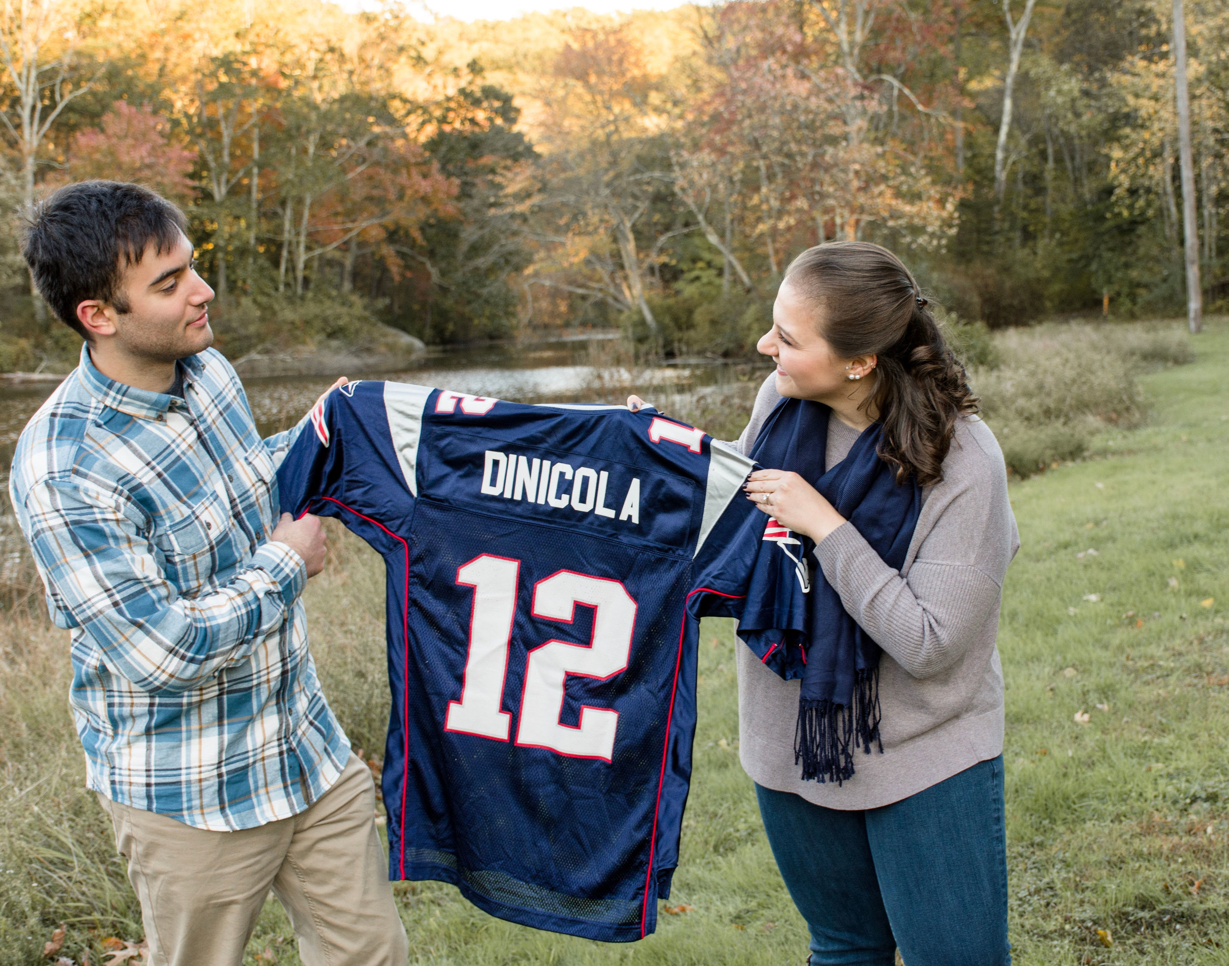 Patriots Themed Engagement